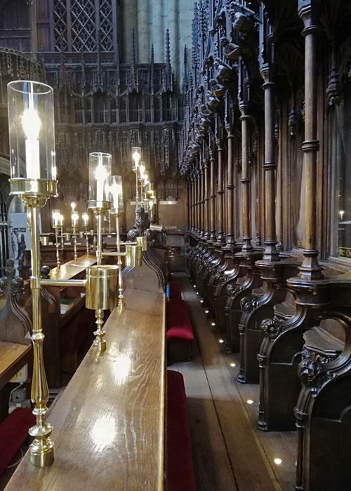 Choir stalls, Ripon