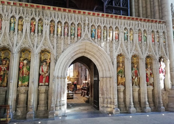 Ripon Cathedral screen