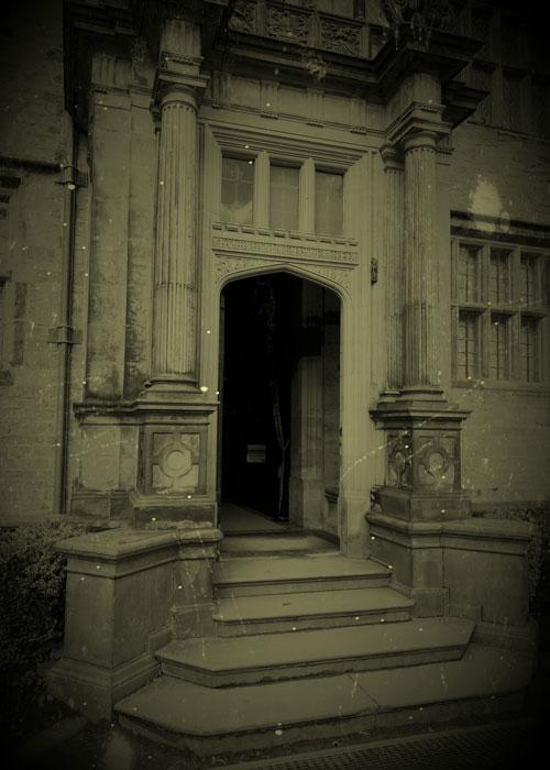 Porch, Gawthorpe Hall