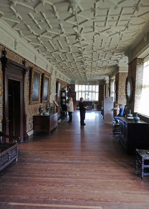 Long gallery, Gawthorpe Hall