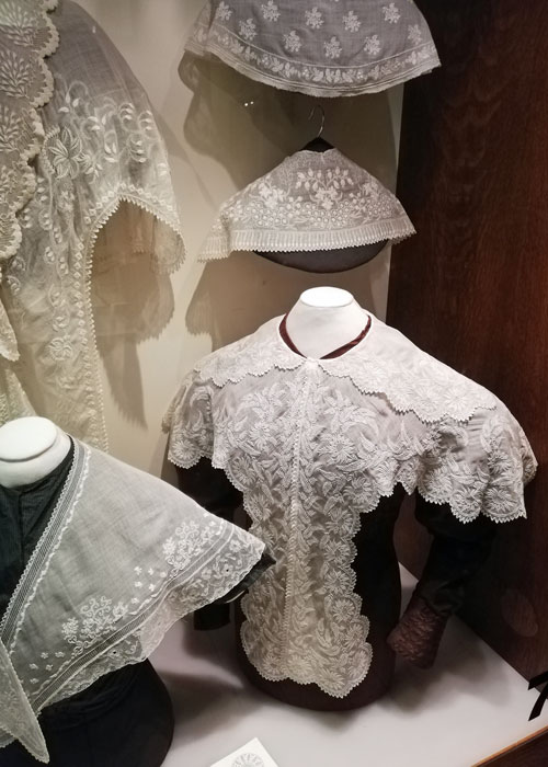 Whitework, Gawthorpe textile collection