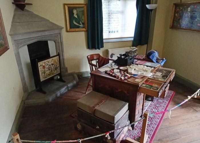 Rachel Kay-Shuttleworth's preserved work room