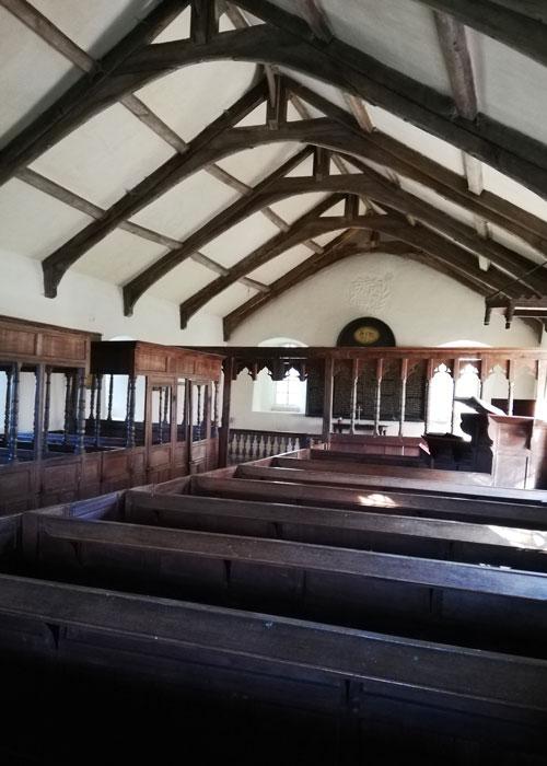 Interior of Ninekirks
