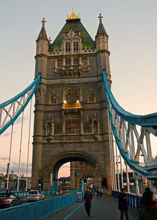 Dusk at Tower Bridge