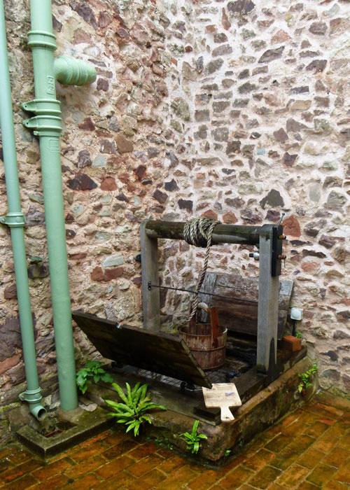 Coleridge Cottage well
