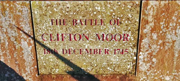 Memorial to the Battle of Clifton Moor