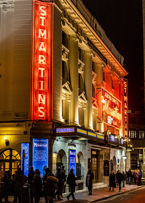 St Martins Theatre, The Mousetrap