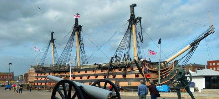 Trafalgar Day, HMS Victory