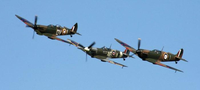 Spitfires, Battle of Britain