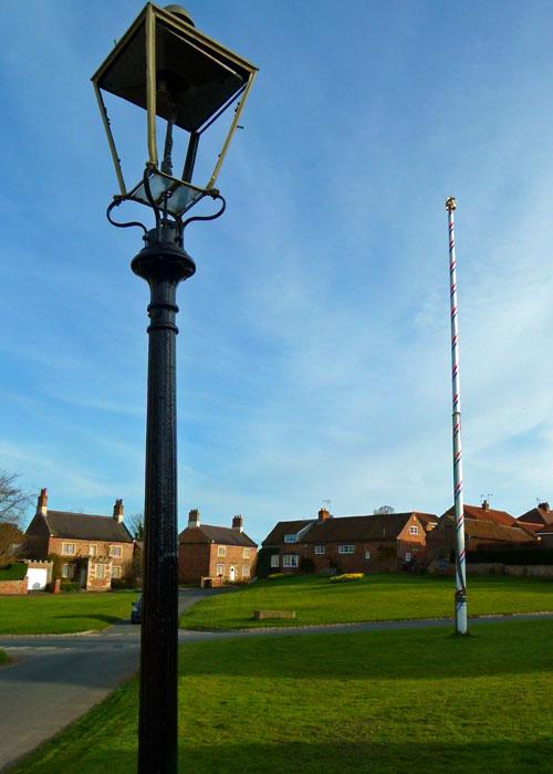 Maypole, Aldborough, North Yorkshire