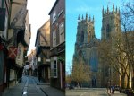 York Shambles and Minster