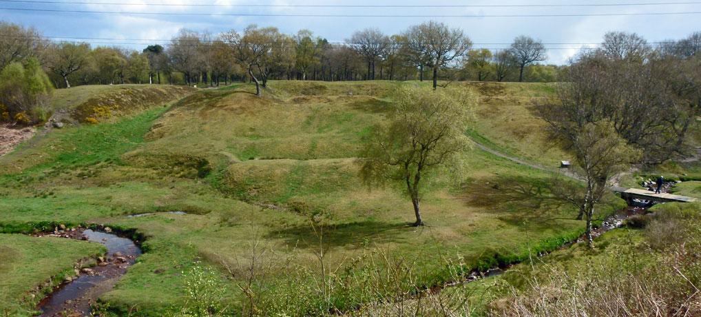 Rough Castle, Roman fort