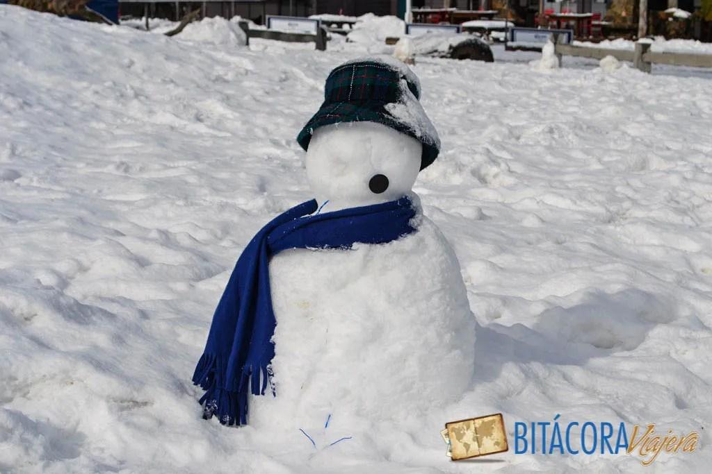 muñeco de nieve en hotham