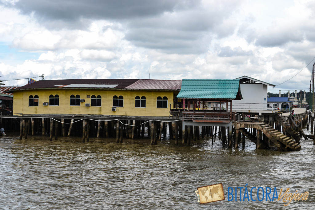 kampong ayer aldea flotante brunei (1)