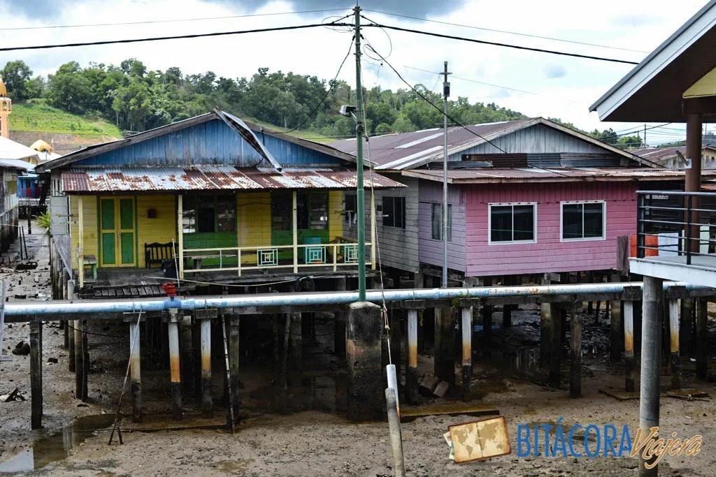 kampong ayer aldea flotante brunei (2)