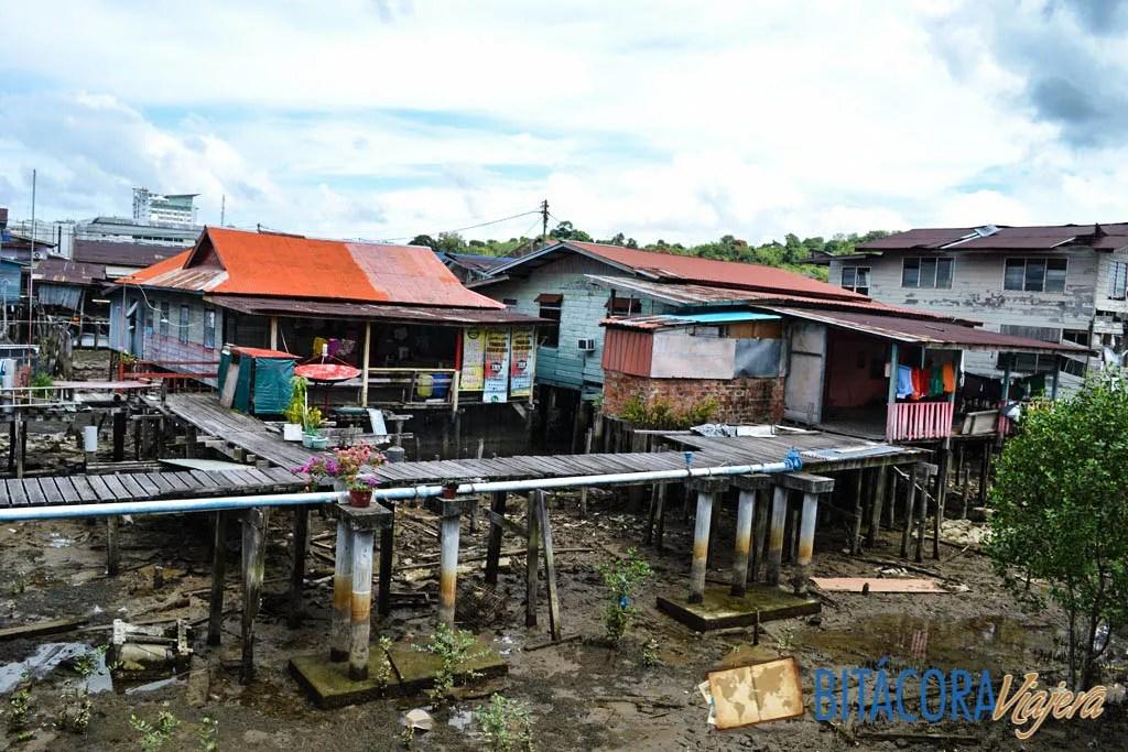 kampong ayer aldea flotante brunei (3)
