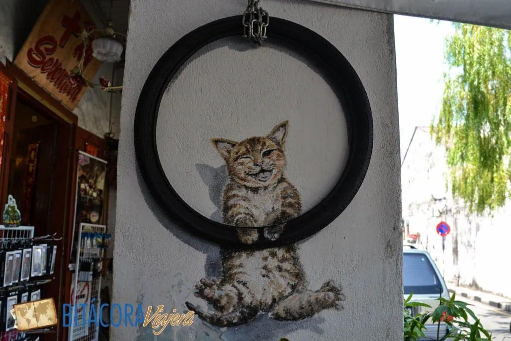 Arte Callejero Penang 101 Lost Kittens Project (3)