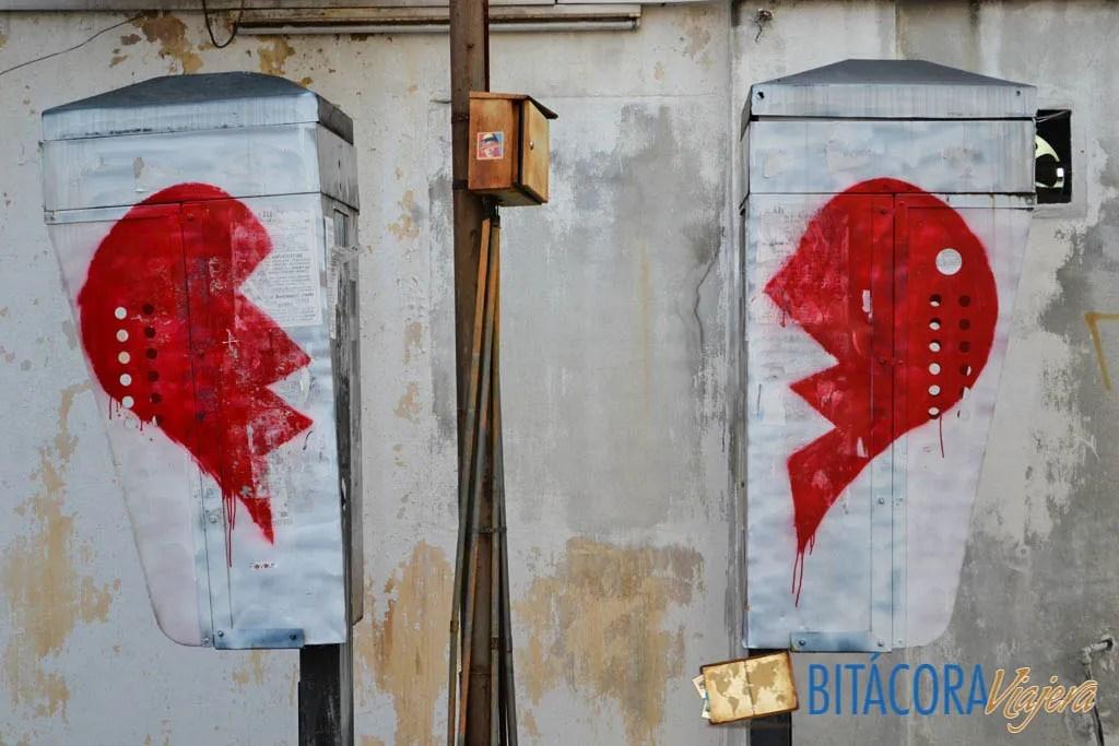 Arte Callejero Penang Broken Heart