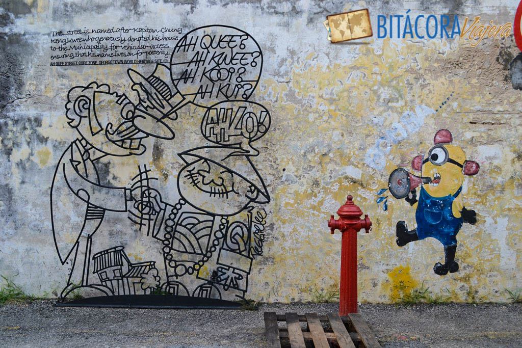 Arte Callejero Penang Esculturas de Hierro (3)