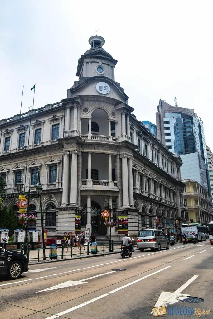 centro histórico macao