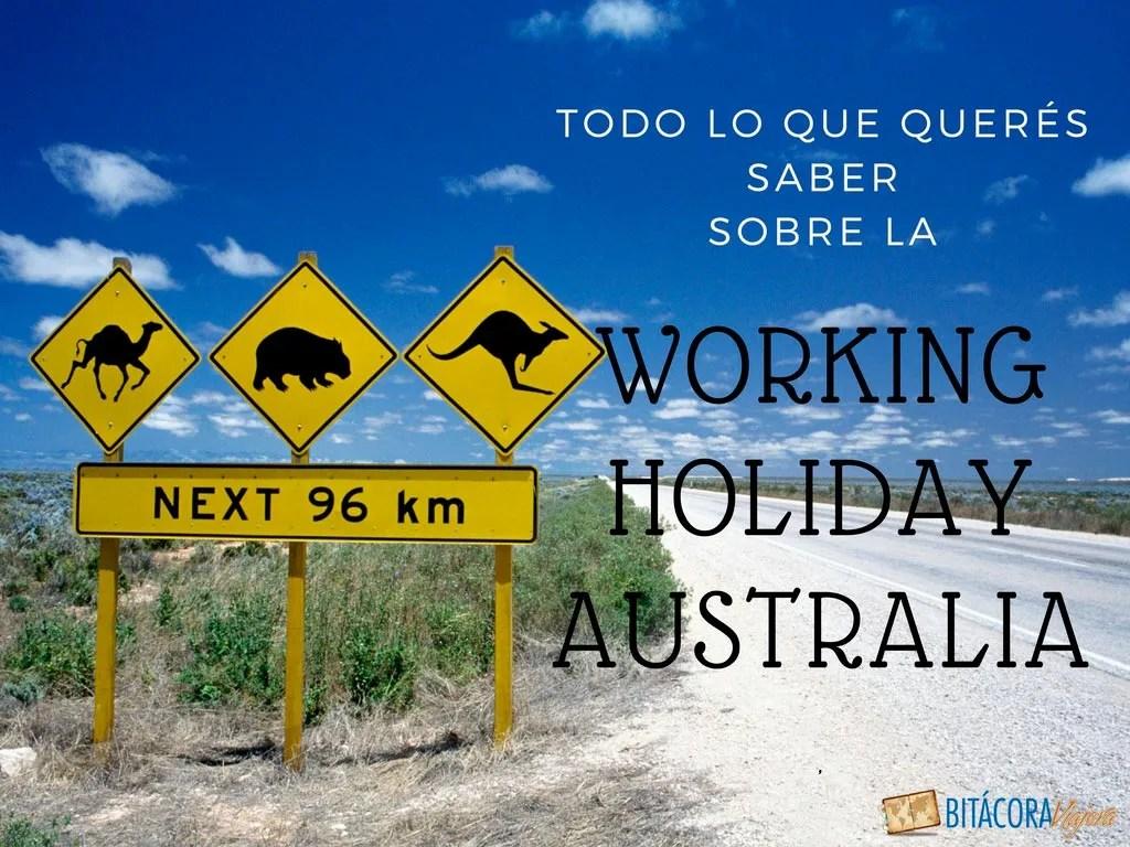 lo que querés saber sobre la working holiday australia