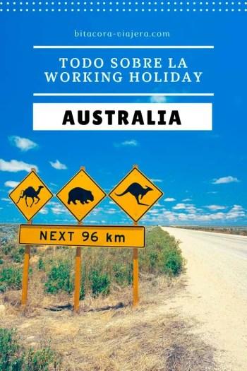 Todo lo que querés saber sobre la Working Holiday Australia. La información que necesitás para evitar sorpresas. #bitacoraviajera #workingholiday #workingholidayaustralia #viajaraaustralia #vivirenaustralia