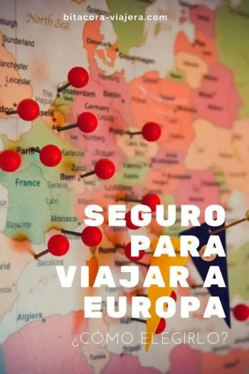 seguro para viajar a europa