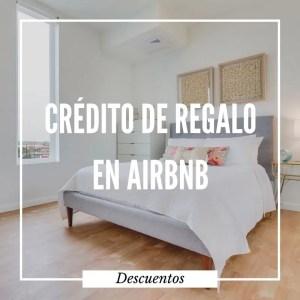 crédito airbnb de regalo