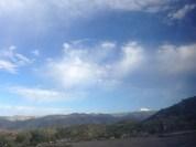 Subiendo al altiplano boliviano.