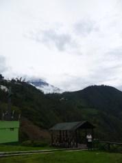 Vista del volcán Tungurahua.