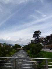 Vista al río.