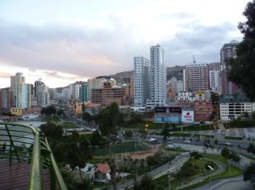 Vista del centro de la ciudad.