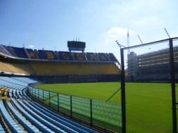 Dentro del Estadio