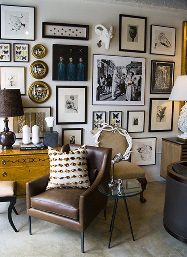 Gallery Wall ELLE Decor