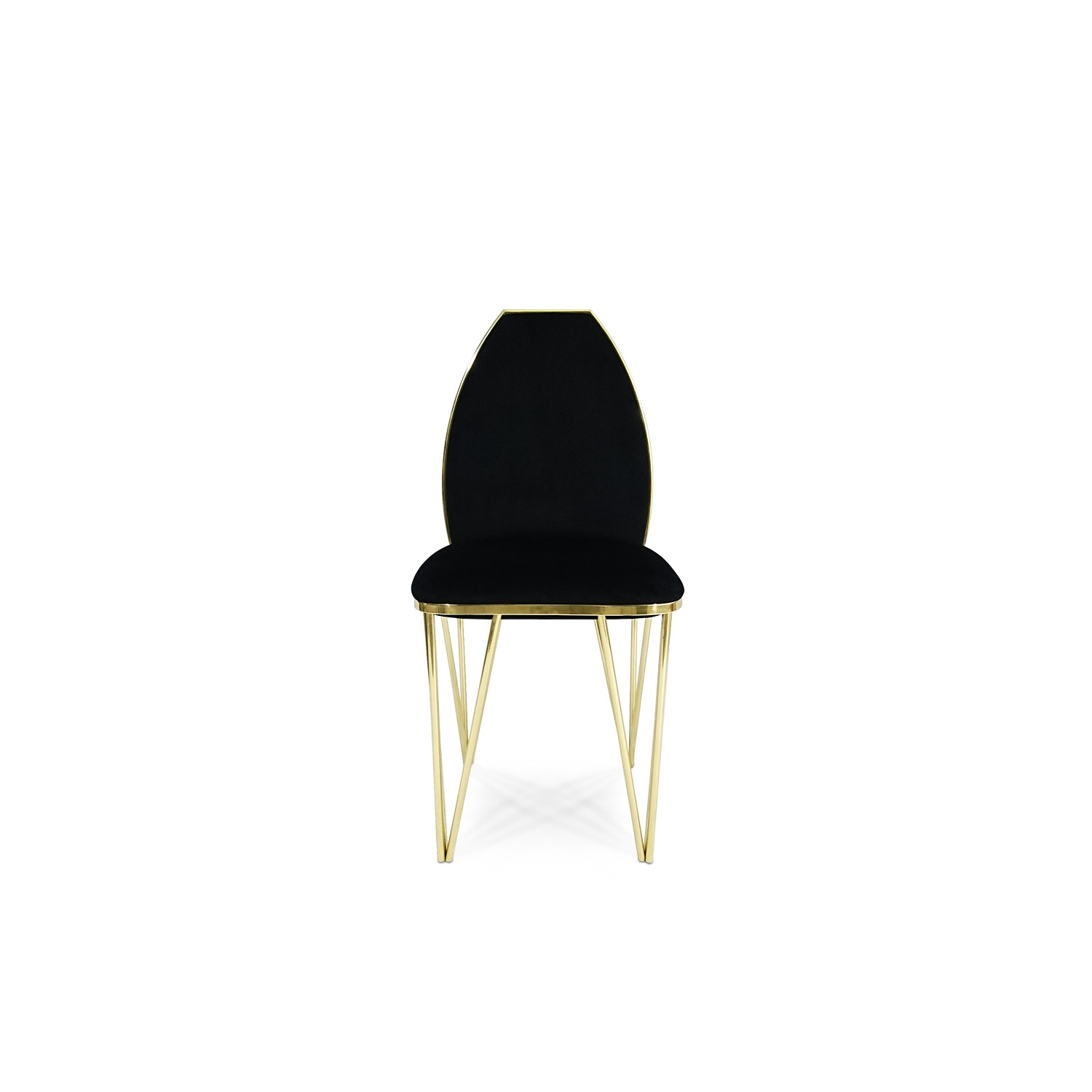 Gold Velvet Chair Hurricane Bitangra