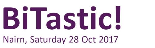 BiTastic! | Nairn, Saturday 28 Oct 2017