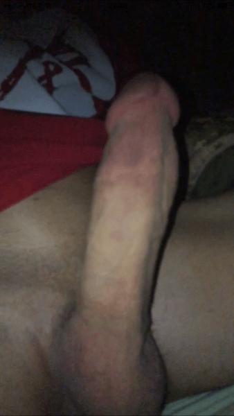 Long throbbing cock