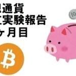 bitcoin(ビットコイン) コイン積立報告 9.5か月目