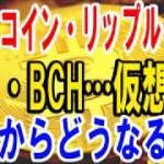 【仮想通貨】ビットコイン(BTC、リップル(XRP、ネム、ビットコインキャッシュ(BCH仮想通貨これからどうなる!?