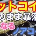 【仮想通貨】ビットコインこのまま暴落か?ノアコインへの戦略!