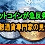 ビットコインが急反発で投資家に安堵感|仮想通貨専門家による見解も【仮想通貨】
