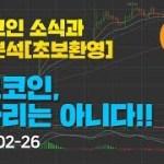 [Bitcoin] 비트코인 소식과 차트분석(초보환영) 5화 -비트코인 쫄자리는 아니다!!- #비트코인 #알트코인 #가상화폐