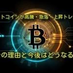 ビットコインが高騰・急落・上昇トレンド❗️その理由と今後はどうなる⁉️【速報】仮想通貨・暗号資産ニュース