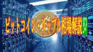 【仮想通貨】リップル最新情報❗️ビットコイン・リップル注目相場解説💹