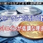 """中国の""""20万BTC詐欺""""、仮想通貨ビットコインが低調な理由?【仮想通貨・暗号資産】"""