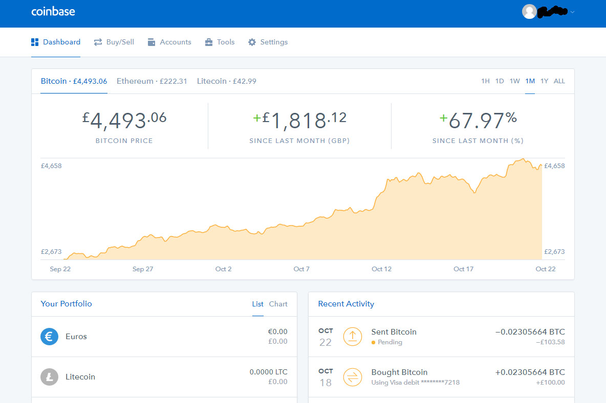 Pending Coinbase Gemini Exchange Eth Wallet Address