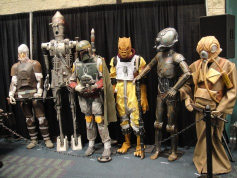 Star Wars Bounty Hunters (Image: PopCultureGeek/Flickr)
