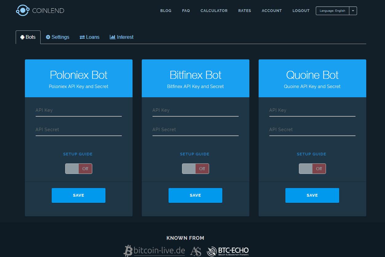How Do I Link Coinpot To Coinbase Bitfinex Margin Funding