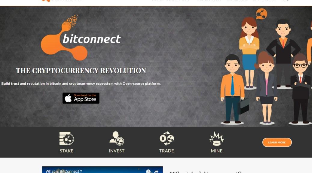BitConnect Home Page (Image: BIUK)