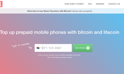 Top Up Your Mobile Phone With Bitcoin